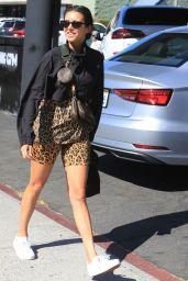 Nina Dobrev - Outside a Gym in West Hollywood 10/22/2019
