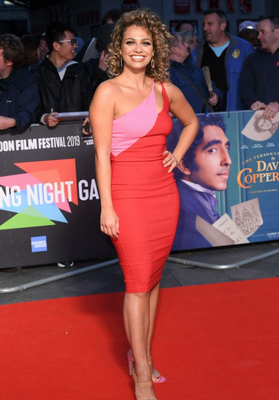 """Nush Cope – """"The Personal History of David Copperfield"""" Premiere at BFI London Film Festival"""
