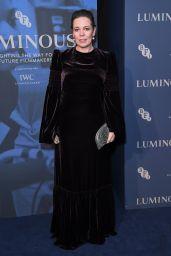 Olivia Colman – BFI Luminous Fundraising Gala in London 10/01/2019