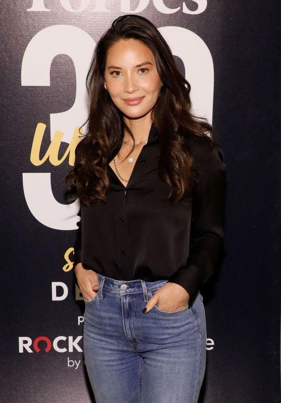 Olivia Munn - Forbes 30 Under 30 Summit in Detroit 10/28/2019