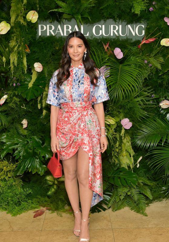Olivia Munn – Prabal Gurung Celebrates 10 years in West Hollywood