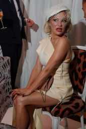 Pamela Anderson - Vivienne Westwood Show at Paris Fashion Week 09/28/2019