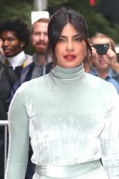 Priyanka Chopra - Leaving the View in New York 10/08/2019