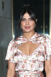 Priyanka Chopra Style - Arriving at the Today Show in New York 10/08/2019