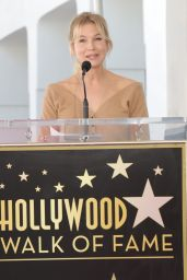 Renee Zellweger - Harry Connick Jr. Honored With a Star on the Hollywood Walk of Fame in Los Angeles