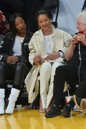 Rihanna - Lakers vs. Utah Jazz Game in LA 10/25/2019