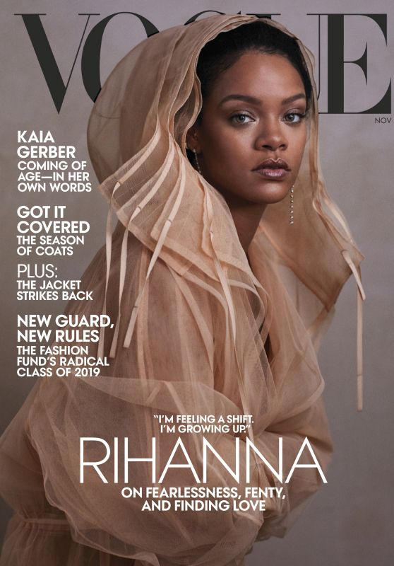 Rihanna - Vogue Magazine November 2019 Issue