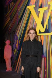 Riley Keough – Louis Vuitton Maison Store Launch Party in London 10/23/2019
