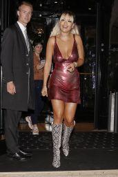 Rita Ora - Leaving Her Hotel in Paris 09/29/2019