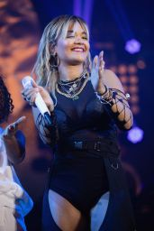 Rita Ora - Performs at the American Express Gold Launch in Mexico City
