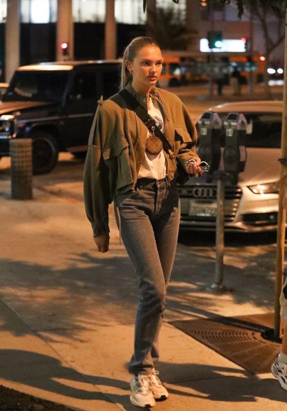 Romee Strijd - Leaving Zinqué in West Hollywood 10/21/2019