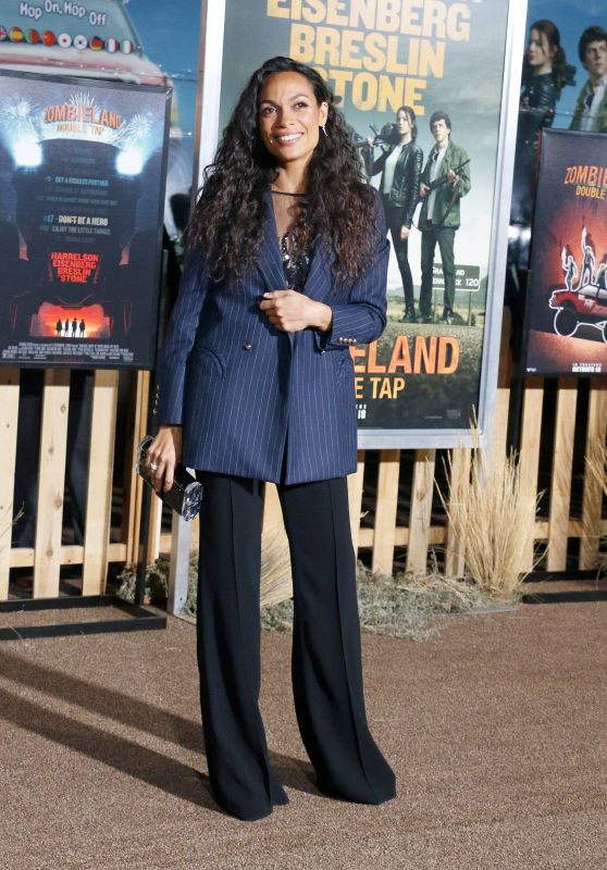 "Rosario Dawson – ""Zombieland: Double Tap"" Premiere in Westwood"
