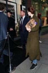 Rose Leslie - Out in West London 10/04/2019