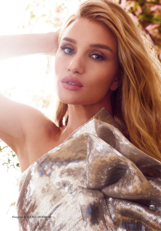 Rosie Huntington-Whiteley - Harper's Bazaar UK December 2019 Issue