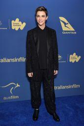 Ruby Rose - Australians in Film Awards Gala & Benefit Dinner in Century City 10/23/2019
