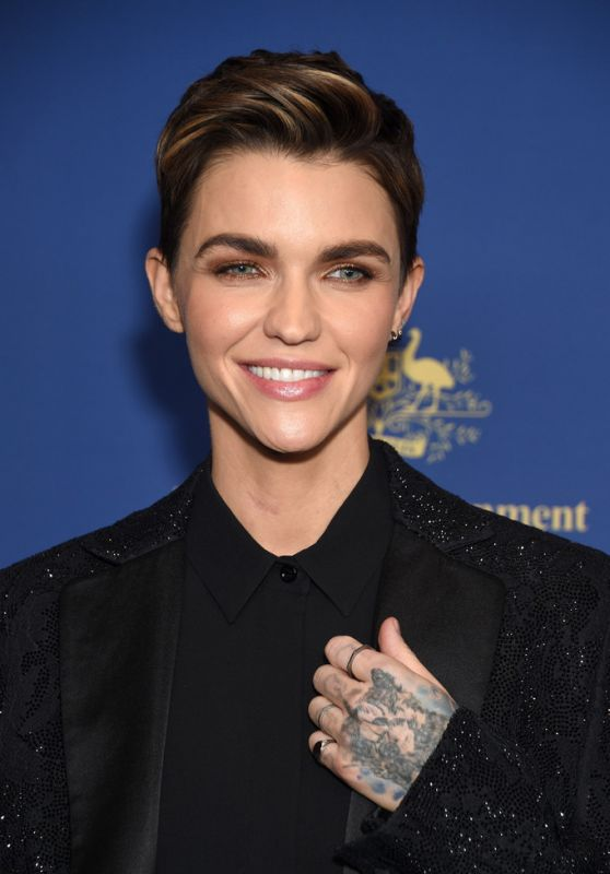 Ruby Rose - Australians in Film Awards Gala & Benefit Dinner in Century City 10/23/2019