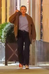 Scarlett Johansson and Colin Jost - New York 10/21/2019