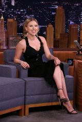 Scarlett Johansson - The Tonight Show Starring Jimmy Fallon in NYC 10/21/2019