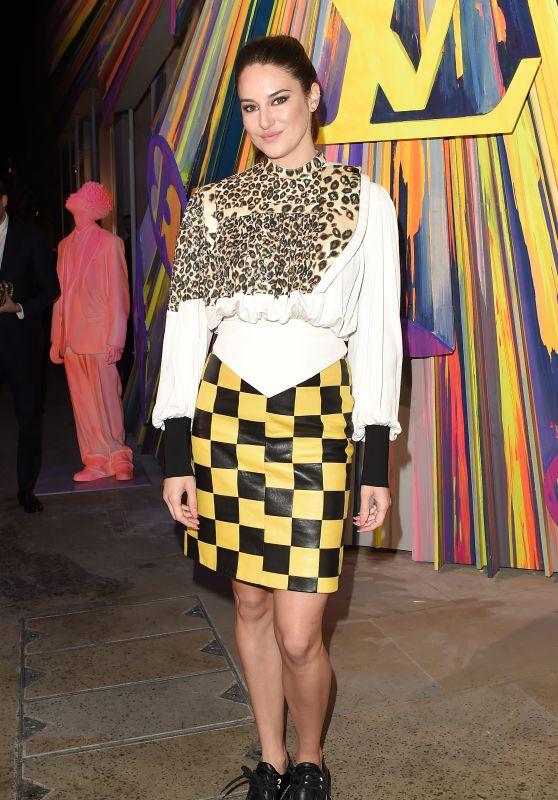 Shailene Woodley – Louis Vuitton Maison Store Launch Party in London 10/23/2019