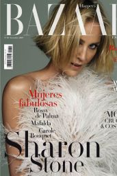 Sharon Stone - Harpers Bazaar Spain November 2019 Issue