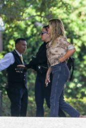 Sofia Richie - Arrives at a Hotel in Beverly Hills 10/13/2019