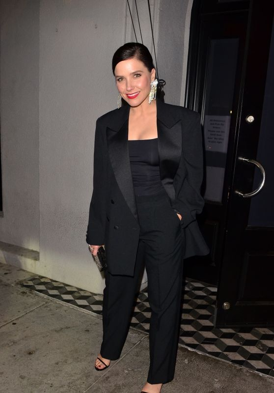 Sophia Bush - Leaving Craig's Restaurant in West Hollywood 10/13/2019