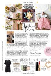 Sophie Ellis-Bextor - Red Magazine UK December 2019 Issue