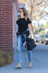 Stacy Keibler Street Style 10/16/2019