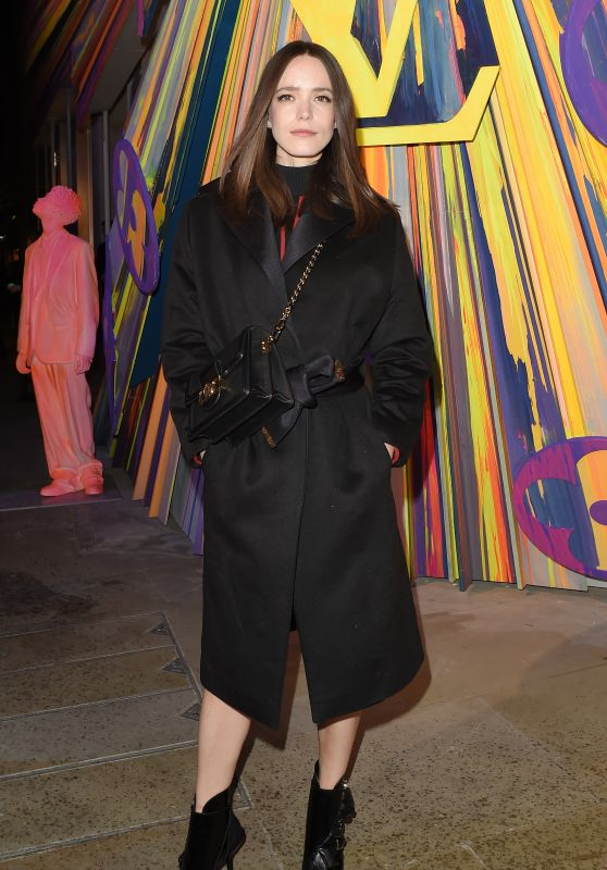Stacy Martin – Louis Vuitton Maison Store Launch Party in London 10/23/2019