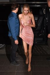Stella Maxwell - Versace Fashion Show After Party in Milan 09/19/2019