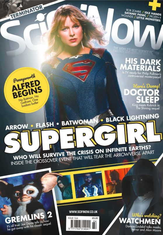 Supergirl Cast - SciFiNow Magazine Issue 164 December 2019