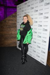 Tallia Storm - Natural History Museum Ice Rink Launch Party in London 10/23/2019