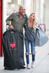 Tara Reid - Shopping for Halloween Costumes in West Hollywood 10/23/2019