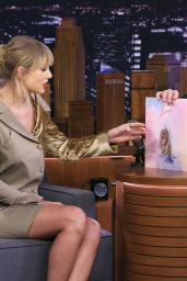 Taylor Swift - The Tonight Show Starring Jimmy Fallon in NYC 10/03/2019