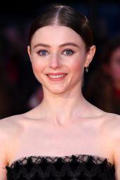 "Thomasin McKenzie – ""The King"" Premiere at the BFI London Film Festival"