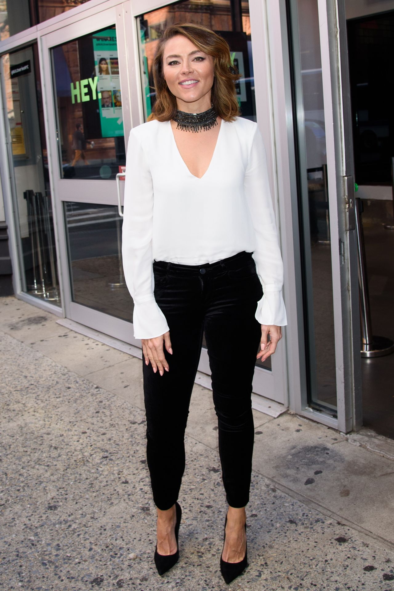 Trieste Kelly Dunn at BUILD Studio in NYC 10/23/2019