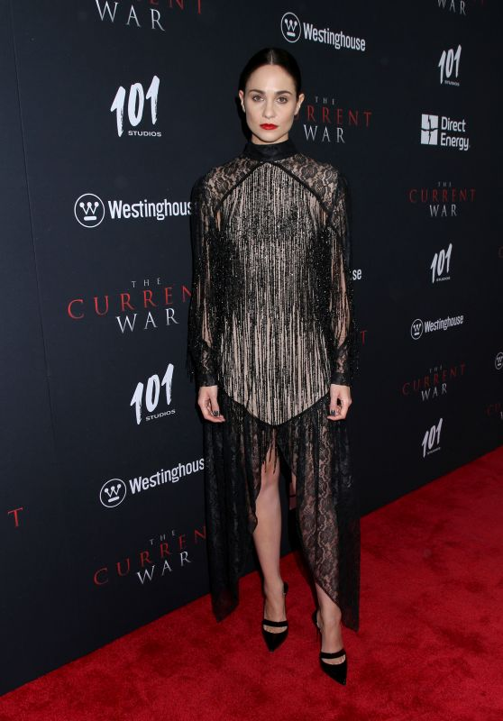 """Tuppence Middleton - """"The Current War"""" Premiere in New York"""