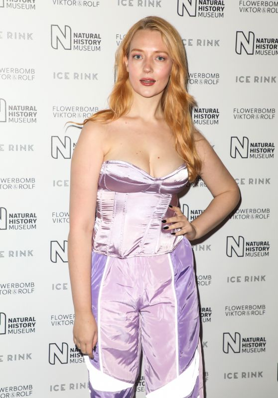 Victoria Clay - Launch Party for the Natural History Museum Ice Rink in London 10/22/2019