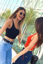 Victoria Justice and Madison Reed - Social Media 10/22/2019