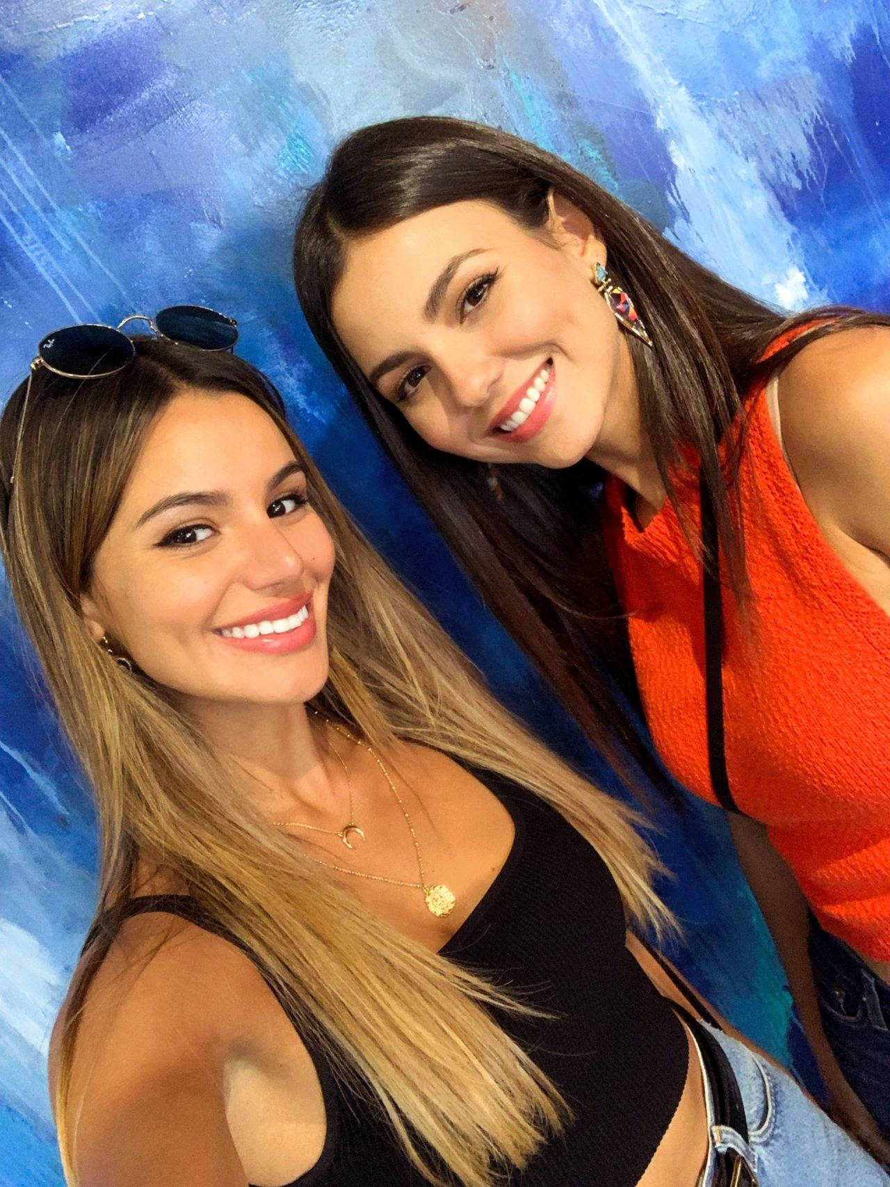 Victoria Justice and Madison Reed - Social Media 10/22
