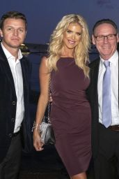 """Victoria Silvstedt - Draw of the Teams for the """"Princess Of Monaco Cup"""" at Yacht Club de Monaco 10/02/2019"""