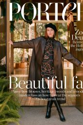 Zoey Deutch - The Edit by Net-A-Porter October 2019
