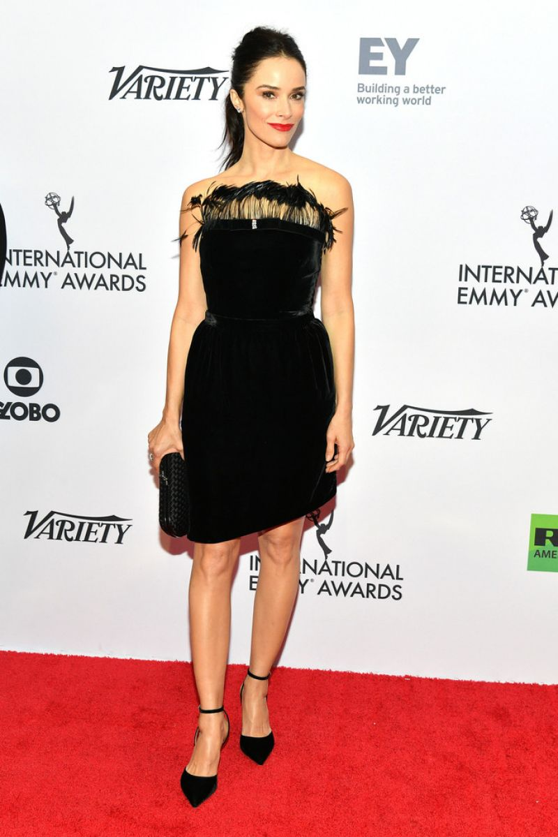 Abigail Spencer sexy, elegant and stunning at International Emmy Awards Gala in NYC
