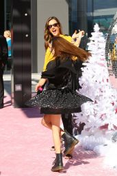 """Alessandra Ambrosio - """"LOL Surprise! Winter Disco"""" Movie in Century City"""