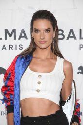 Alessandra Ambrosio – PUMA x Balmain Launch Event in LA