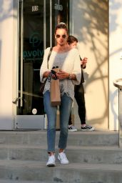 Alessandra Ambrosio - Shopping at Fred Segal in West Hollywood 11/21/2019