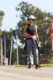 Alessandra Ambrosio - Walking Her Dog in LA 11/21/2019