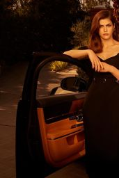 Alexandra Daddario - Jaguar XJ Collection 2019