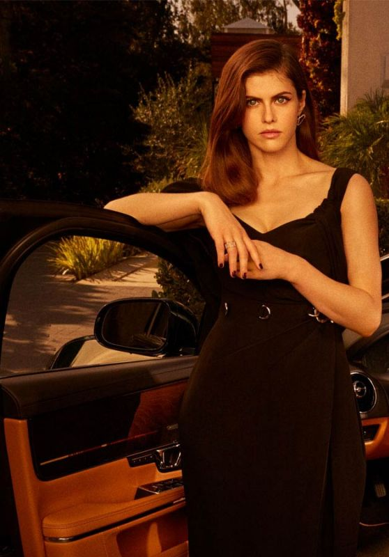 Alexandra Daddario - Jaguar XJ Collection 2019