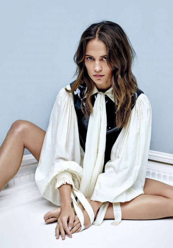 Alicia Vikander - Vanity Fair Italy 11/20/2019 Issue